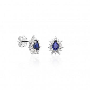 Solitario en oro amarillo con diamante 0,08 ct. 4 puntas  - 2