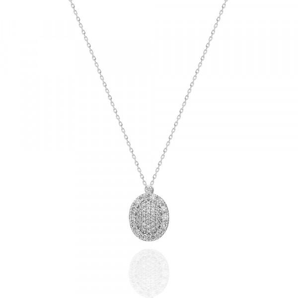Solitario oro amarillo,  diamante de 0,10 ct.  - 1