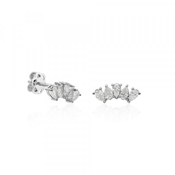 Anillo de pedida oro rosa con diamante 0,16 ct  - 1