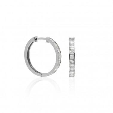 Solitario oro amarillo diamante princesa de 1 quilate  - 1