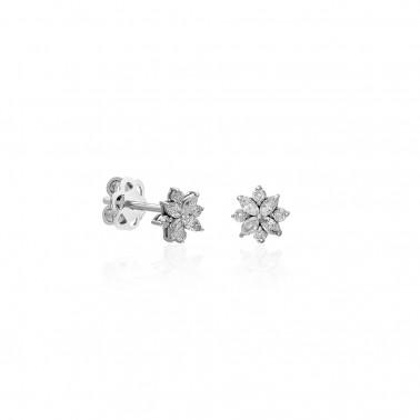 Solitario 6 puntas oro amarillo diamante 0,40 ct.  - 3