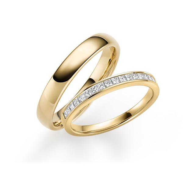Solitario diamante un quilate en oro amarillo. Diamante 1,00 ct  - 1