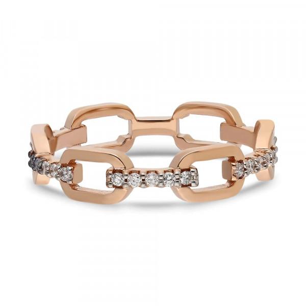 Solitario en oro blanco con diamante princesa de 0,70 ct (tw,vsi) Rubin - 1